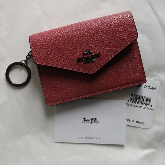 Coach Handbags - Coach Envelope Card Case